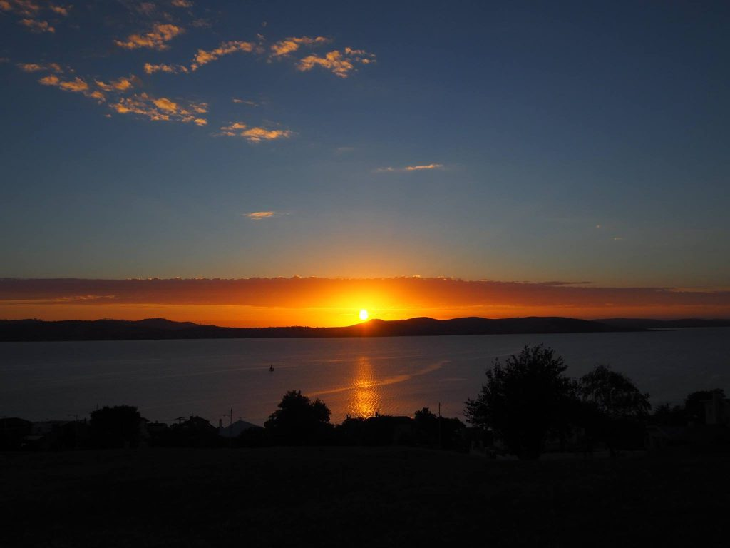 Sunrise at Sandy Bay, TAS - Taken by Jennifer Banh